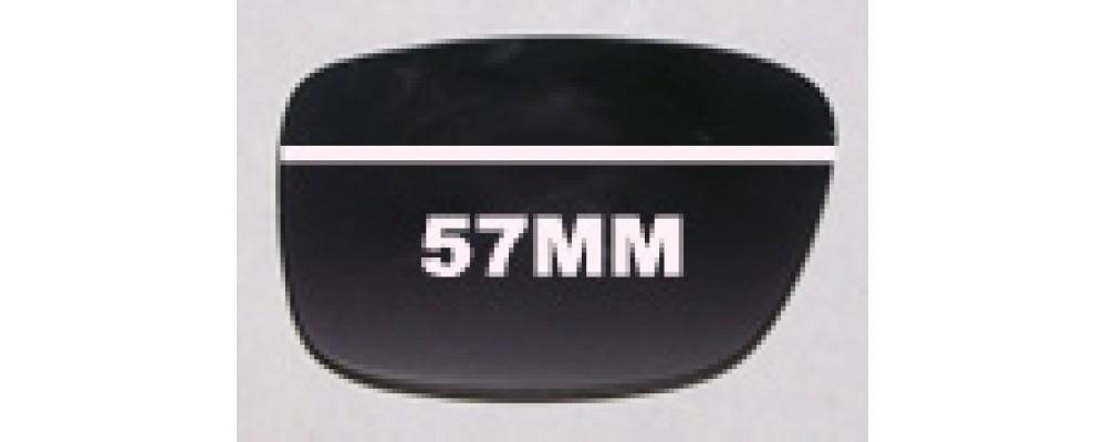 SFX Replacement Sunglass Lenses fits Morrissey Frisky Business 57mm Wide