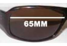 Morrissey Speedster II Replacement Sunglass Lenses - 65mm Wide