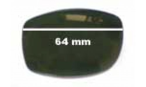 Mako Colossal 9478 Replacement Sunglass Lenses - 64mm Wide