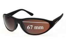 Mako Hooked 9484 Replacement Sunglass Lenses - 67mm Wide