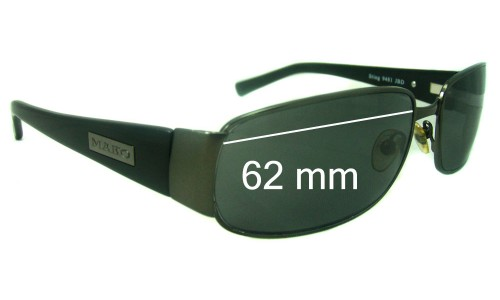 Mako Sting New 9481 Replacement Sunglass Lenses - 62mm Wide