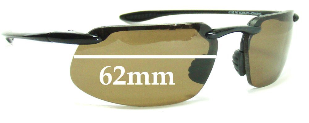 63f6dc7596 Maui Jim 409-Kanaha Replacement Lenses 61mm-62mm Wide by The ...
