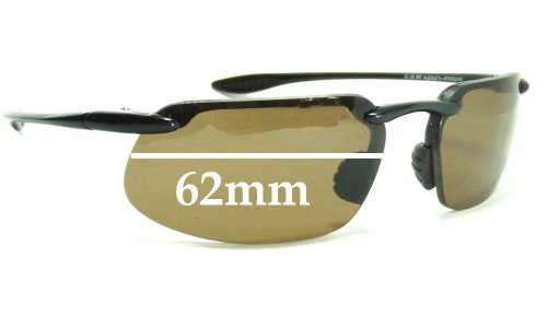 Maui Jim 409-Kanaha Replacement Sunglass Lenses - 61mm-62mm Wide