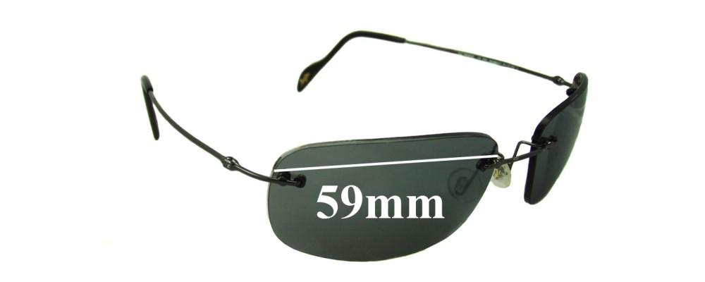 Maui Jim MJ311 Replacement Sunglass Lenses - 59mm Wide