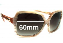 Mimco SF 008501 New Sunglass Lenses - 60mm wide