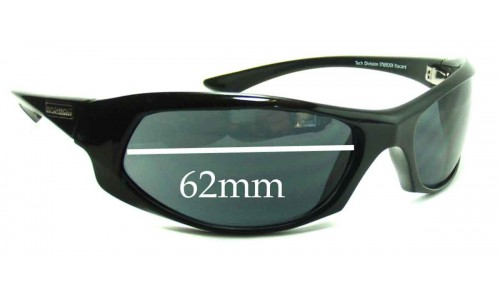 Mormaii Itacare Replacement Sunglass Lenses - 62mm Wide