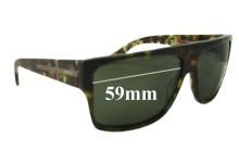 Morrissey Hey Zeus Replacement Sunglass Lenses - 59mm wide