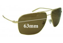 Mosley Tribes Enforcer Replacement Sunglass Lenses - 63mm Wide