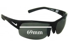Nike Show X2 Replacement Sunglass Lenses - 69mm Wide