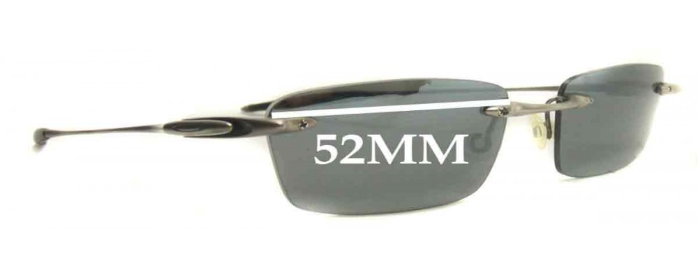 Oakley 31 Thirteen 53mm wide Replacement Sunglass Lenses