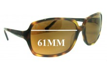 Oliver Peoples Pandora Replacement Sunglass Lenses - 61MM wide