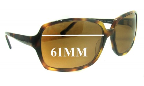 Oliver Peoples Pandora New Sunglass Lenses - 61MM wide