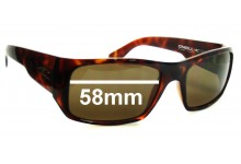 ONEILL FILO First in last out Replacement Sunglass Lenses - 58mm wide