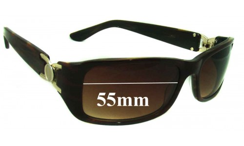Oroton Unknown Model New Sunglass Lenses - 55mm Wide