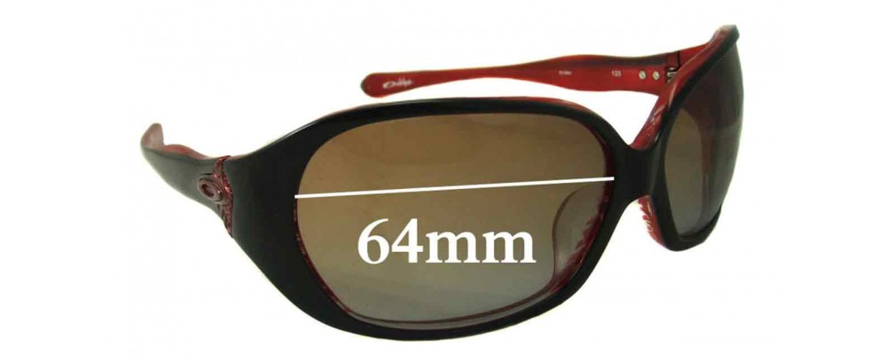 Oakley Betray ASIAN FIT Replacement Sunglass Lenses - 64mm wide