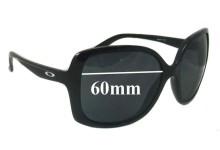 Oakley Beckon Replacement Sunglass Lenses - 60mm wide