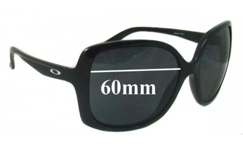 Oakley Beckon Replacement Sunglass Lenses - 60mm wide