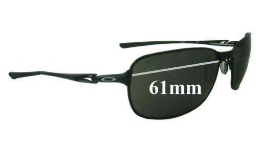 Sunglass Fix Replacement Lenses for Oakley C-Wire New - 61mm Wide
