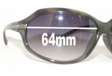 Sunglass Fix New Replacement Lenses for Optyl 3513 - 64mm Wide
