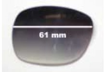 Oroton Caribbean New Sunglass Lenses -61mm wide
