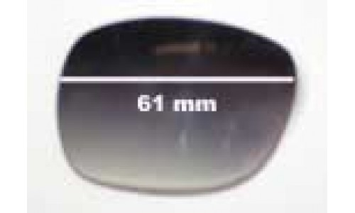 Oroton Caribbean Replacement Sunglass Lenses -61mm wide