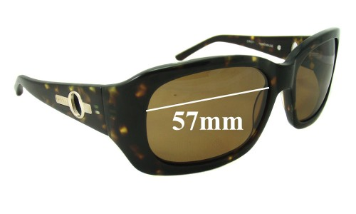 Oroton Majorca Replacement Sunglass Lenses - 57mm Wide