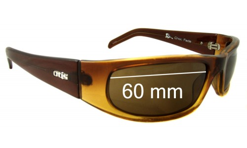 Otis 3D Replacement Sunglass Lenses - 60mm Wide