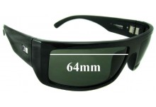 Otis Barricade Replacement Sunglass Lenses - 64mm wide