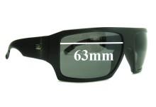 Otis Cube Replacement Sunglass Lenses - 63mm wide