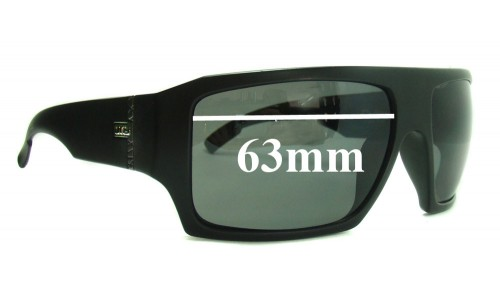 Otis Cube Replacement Sunglass Lenses - 63mm wide