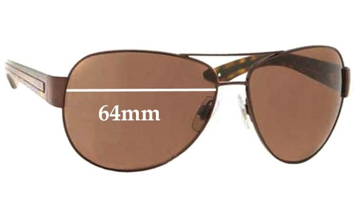 Polo 3029 Replacement Sunglass Lenses - 64mm Wide