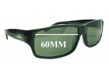 Patrick Cox 9PCRX006 Replacement Sunglass Lenses - 60mm Wide