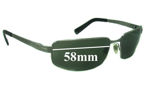 Persol 2297S Replacement Sunglass Lenses - 58mm wide