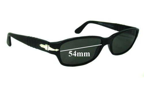 Persol 2602 S Replacement Sunglass Lenses  - 54mm Wide