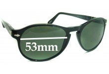 Persol 2931S Replacement Sunglass Lenses - 53mm wide