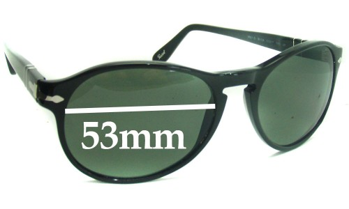 Persol 2931S New Sunglass Lenses - 53mm wide