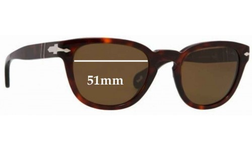 Persol 2961-S Replacement Sunglass Lenses - 51mm wide