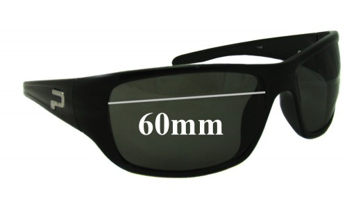 Polaroid P7300A Replacement Sunglass Lenses 60mm Wide