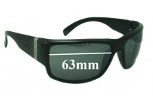 Polaroid X8005 Replacement Sunglass Lenses 63mm Wide