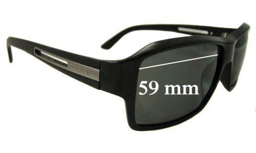 Prada SPR 09I Replacement Sunglass Lenses - 59mm Wide