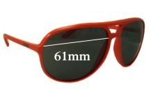 Prada SPR09M Replacement Sunglass Lenses - 61mm Wide