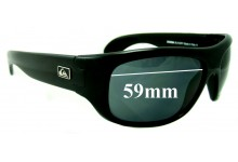 Quiksilver Zorba Replacement Sunglass Lenses - 59mm Wide