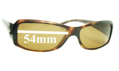 Ray Ban RB4078 Replacement Sunglass Lenses - 54mm wide