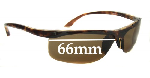 66524ff2e6 Ray Ban RB4085 Replacement Sunglass Lenses - 66mm Wide