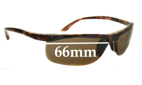 Ray Ban RB4085 Replacement Sunglass Lenses - 66mm Wide