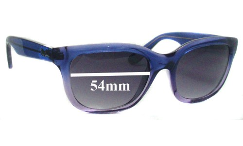 Ray Ban RB4159 Replacement Sunglass Lenses - 54mm wide