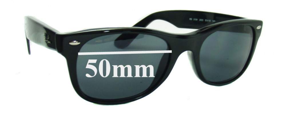 Ray Ban RB5184 Replacement Sunglass Lenses - 50mm wide