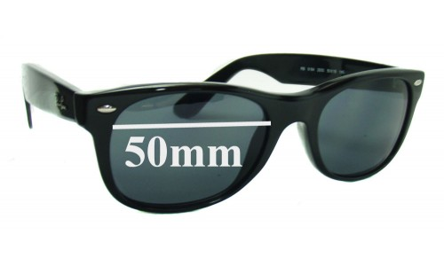 Sunglass Fix Replacement Lenses for Ray Ban RB5184 - 50mm wide