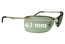 Ray Ban RB3359 Replacement Sunglass Lenses - 63mm Wide