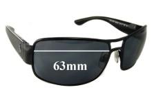Ralph Lauren Polo 3034 9003/87 Replacement Sunglass Lenses - 63mm wide